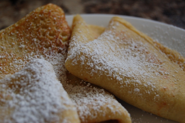 gluten free crepes with meyer lemon cream