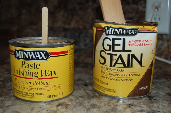 Minwax gell stain and finishing paste