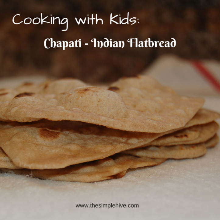 Cooking with Kids: Chipati Indian Flatbread