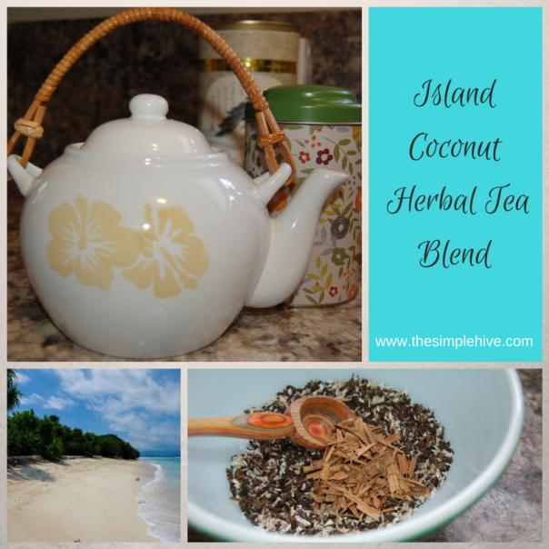 Island Coconut Loose Tea Blend