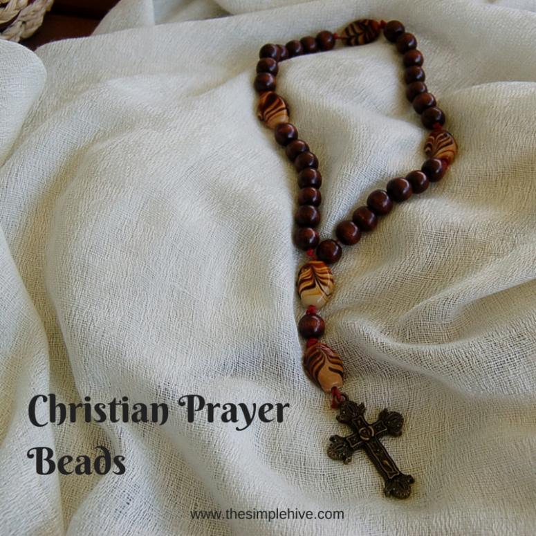 Christian Prayer Beads - the simple hive