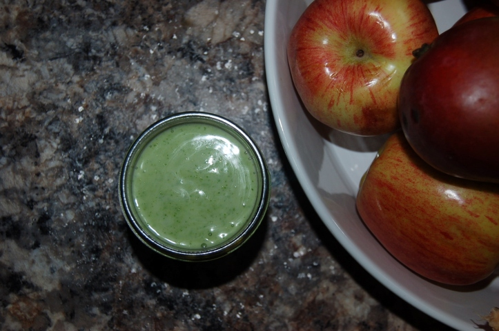 Creamy cilantro-lime dressing. Gluten free and vegan. - thesimplehive.com