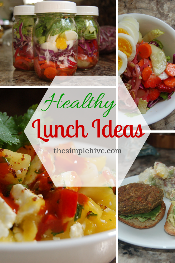 Healthy gluten-free and vegan options for easy lunches. - thesimplehive.com